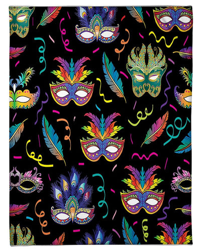 Mardi Gras Colorful Festive Pattern GS-NT0302