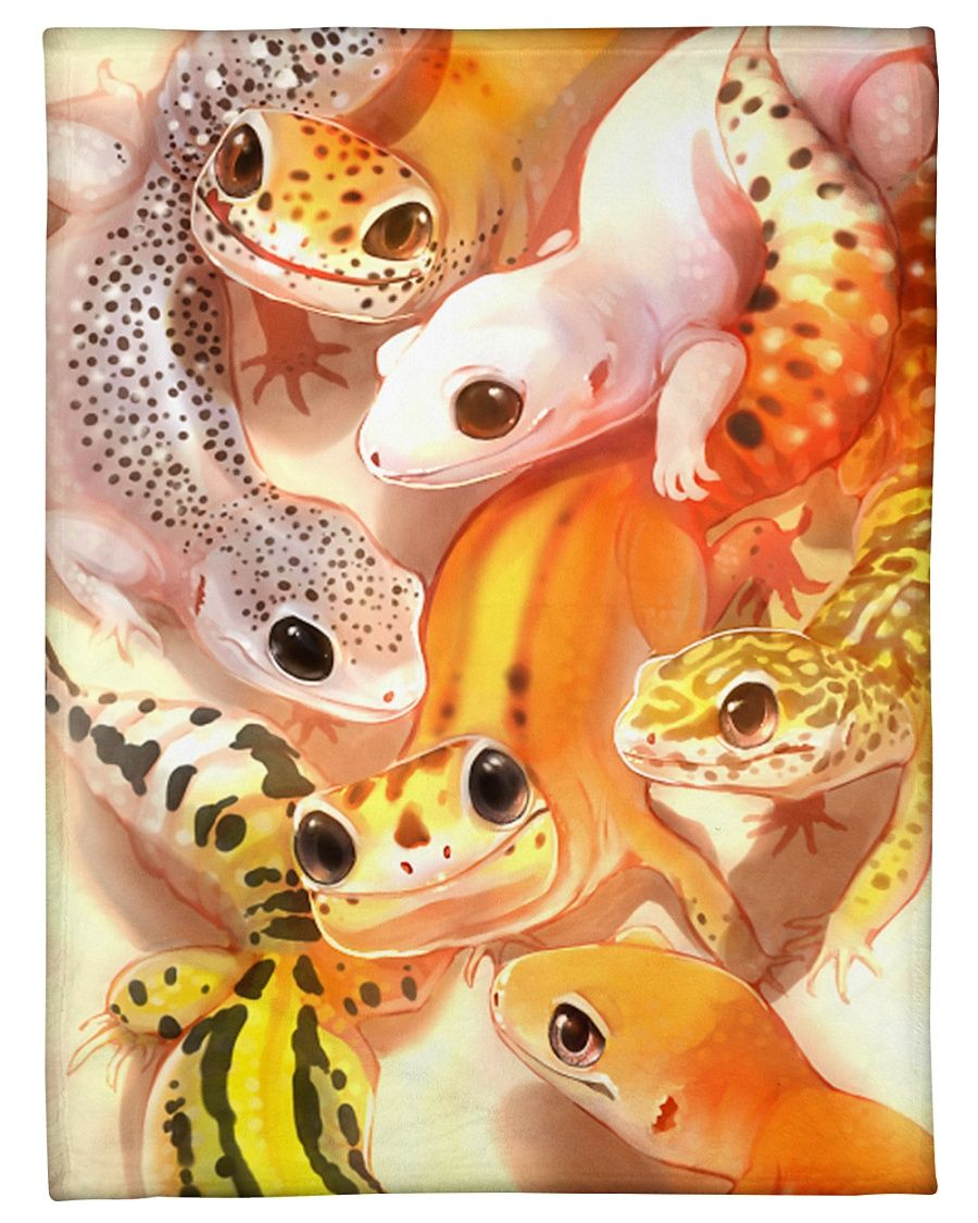 Leopard Gecko Art GS-CL-NT1311