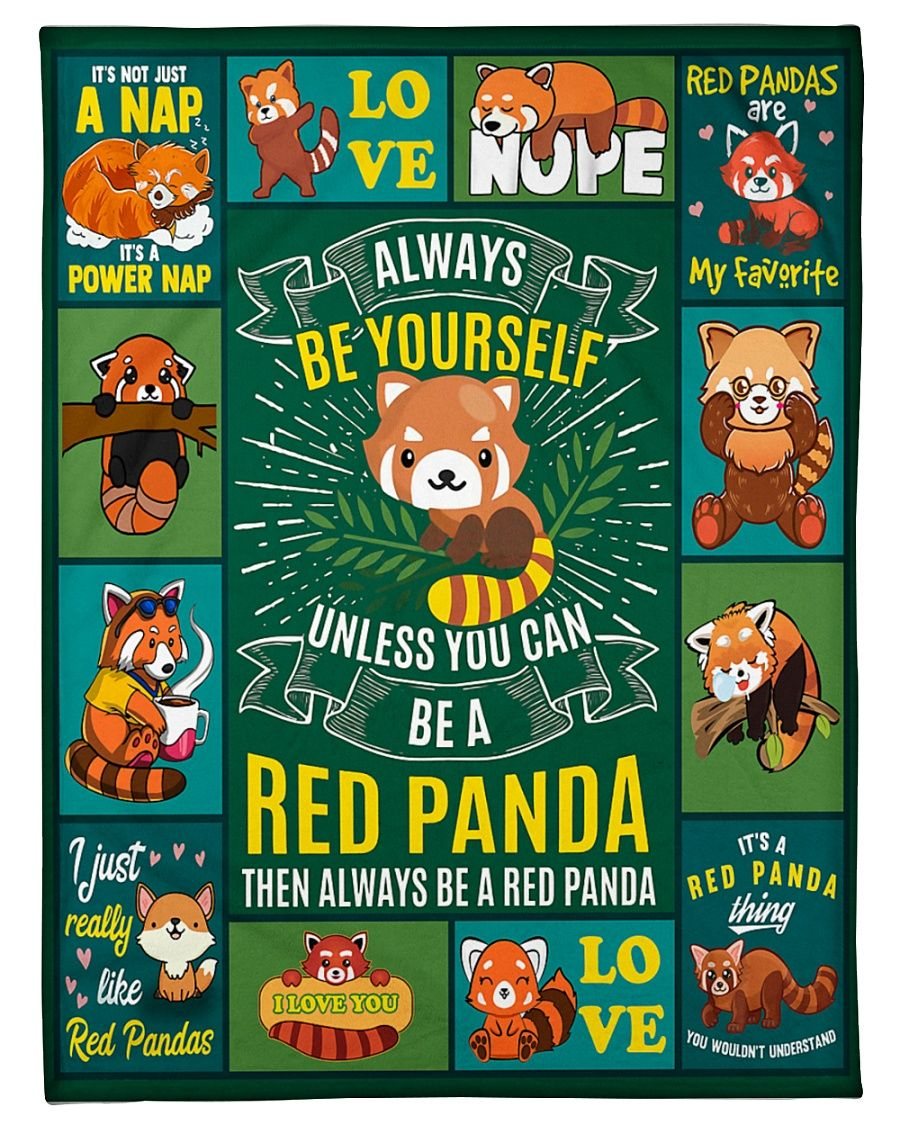 Red Panda Are My Favorite GS-NT2002LB