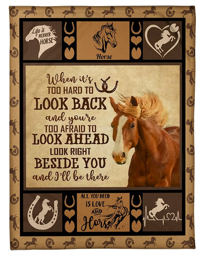 Look Beside You Be There Horse GS-CL-DT1610