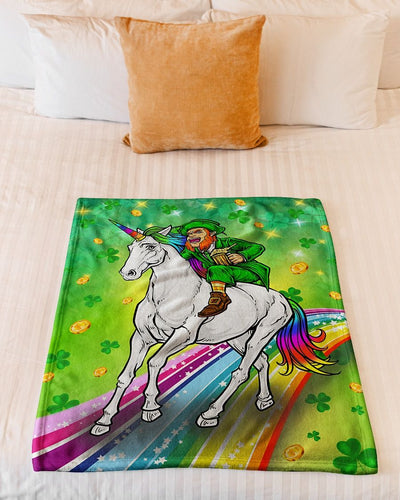 Leprechaun Unicorn Happy St Patrick GS-NT1102LB