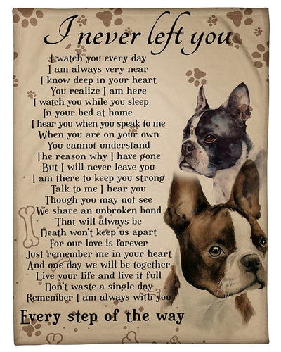 Boston Terriers I Never Left You GS-NT1202PH