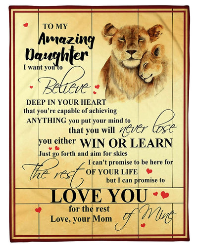 Lion Daughter Mom Love You GS-CL-LD1911