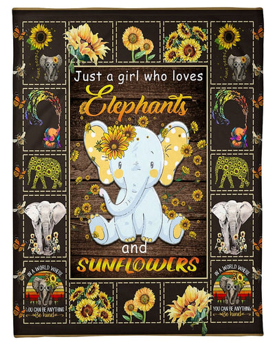 Just A Girl Who Loves Elephants GS-CL-LD2810