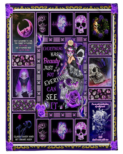 Purple Skull Queen GS-CL-LD2810
