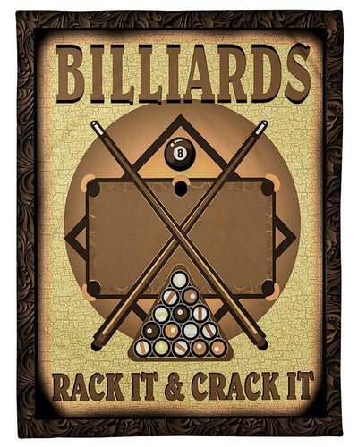 Billiards Rack It And Crack It GS-NT1802PH