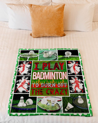 I Play Badminton To Burn Off GS-NT1802TL