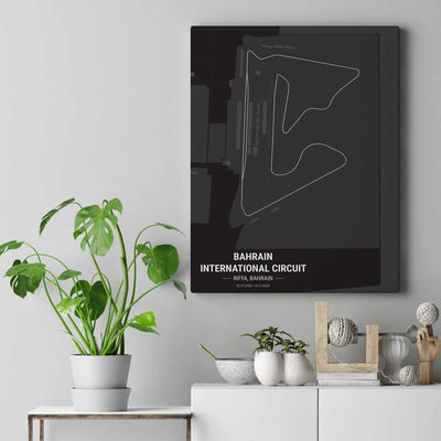 Bahrain Int Circuit Wall Art