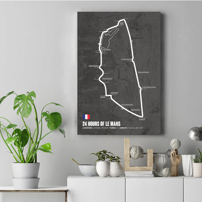 Isle of Man Circuit Wall Art
