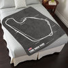 Lime Rock Park Circuit Blanket
