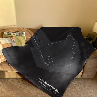 Hungaroring Circuit Blanket