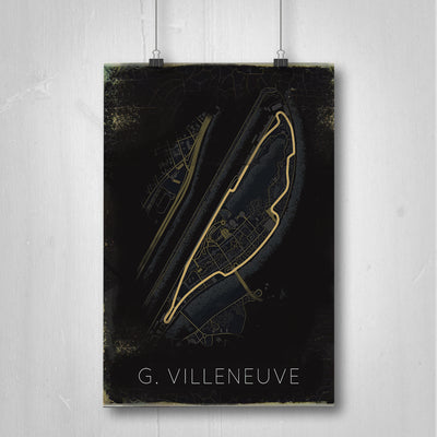 Gilles Villeneuve Wall Art