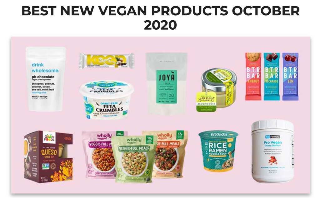FitFormula Wellness Featured as Best New Vegan Products