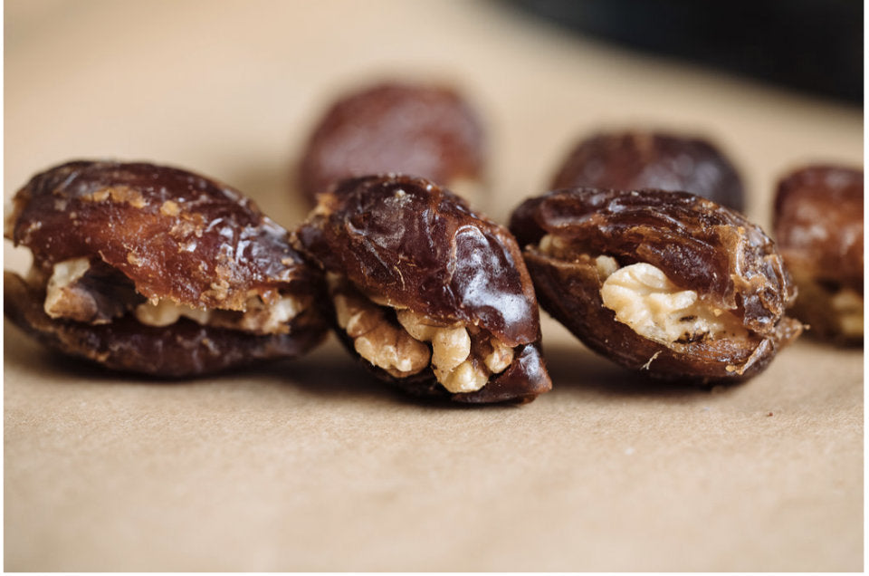 Sweeten Up Your Day with Date and Walnut Energy Snacks