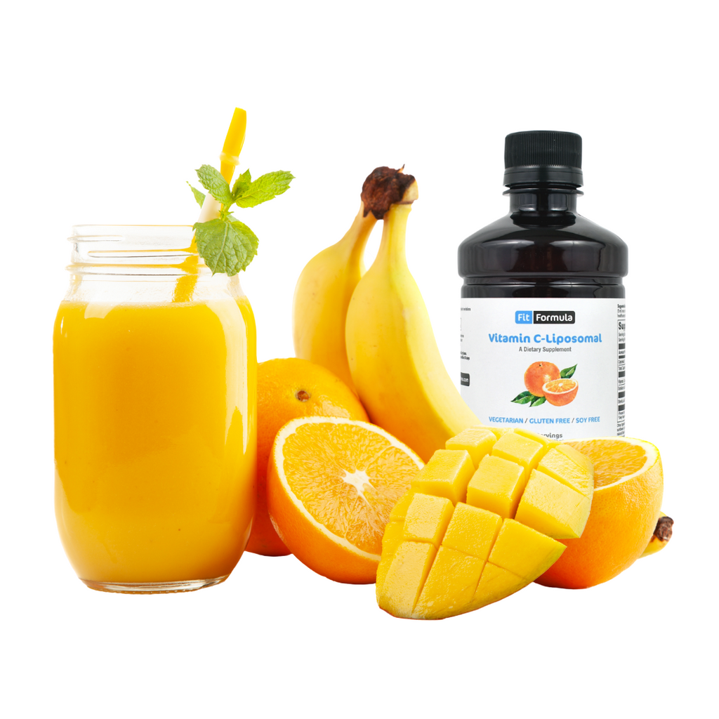 Orange Smoothie With An Extra Boost of Vitamin C