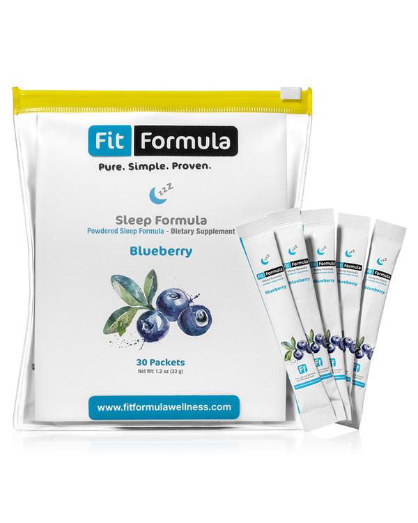 FitFormula's Blueberry-Flavored Sleep Formula