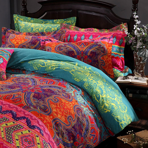 Bohemian 3d comforter bedding sets
