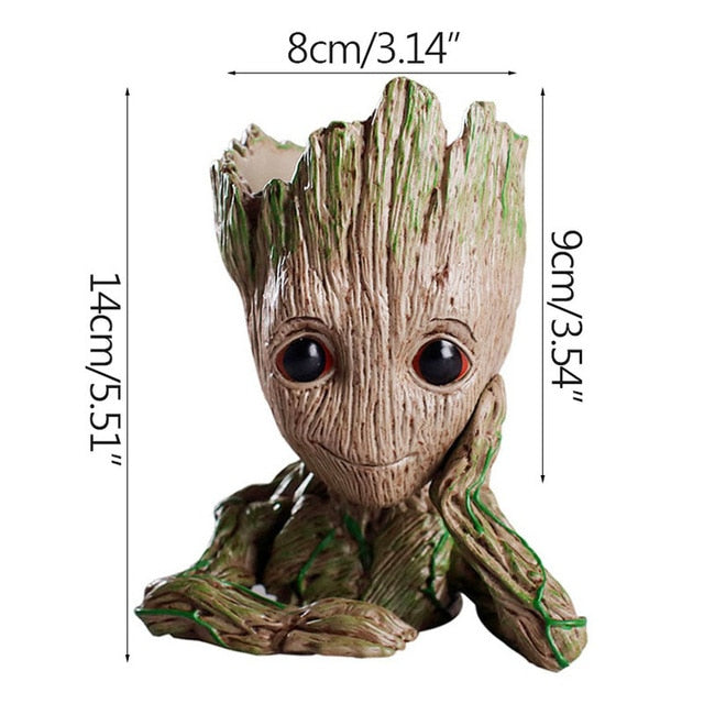 Baby Groot Plant Flower Pot