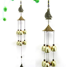 Load image into Gallery viewer, Wind Chimes Yard Antique Amazing Garden copper Bells Windchimes hanging decorations