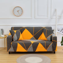 Load image into Gallery viewer, All-wraped Sofa Cover Slipcover Printed Elastic Stretch Couch Cover