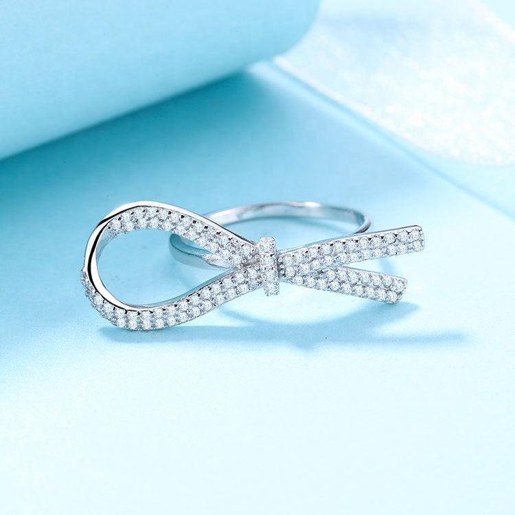 925 Sterling Silver Knot Ring - The Silver Brand