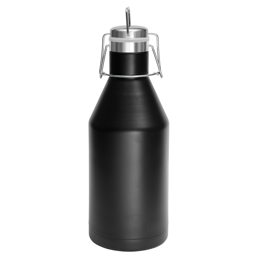Polar Camel 64 oz. Stainless Steel Vacuum Insulated Growler with Swing-Top Lid