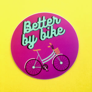 Better By Bike Stickers
