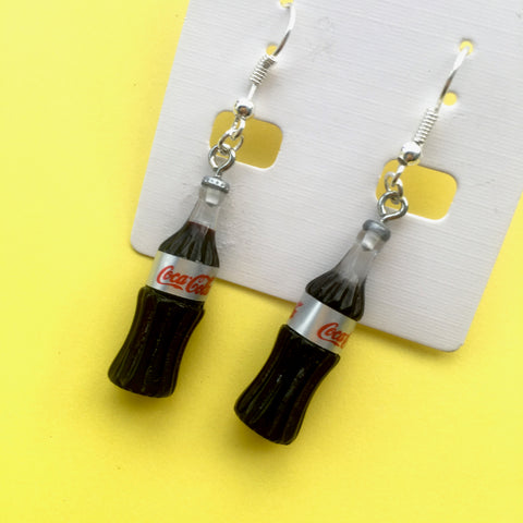 Diet Coke Earrings