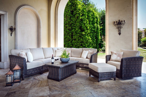Catalina Woven Sectional Seating Set