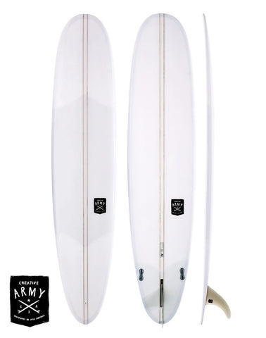 Creative Army 9'1 Five 5 Sugars Performance Longboard Surfboard