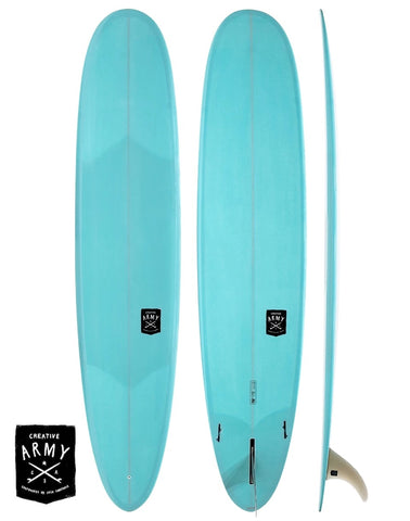 Creative Army 9'6 Five 5 Sugars Performance Longboard Surfboard