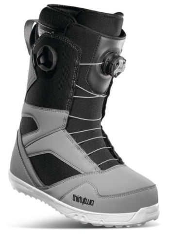 32 STW DOUBLE BOA Mens Snowboard Boots, (20-21)