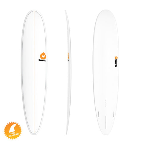 Torq Longboard 9' Surfboard Long Board Surf Board Pin Pinline