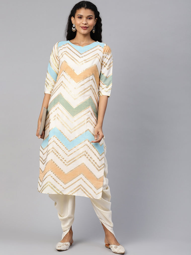 Long And Short Kurta with Pant