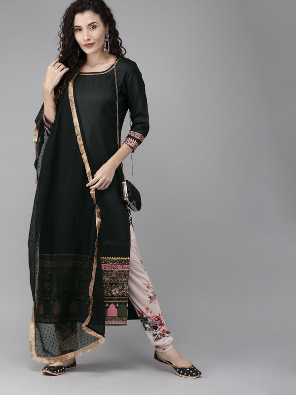 Women solid Kurta set From Ahalyaa