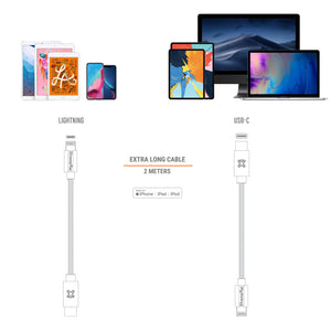 Type-C to Lightning Aluminum Cable