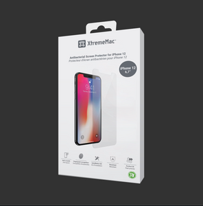 Antibacterial Screen Protector for iPhone 12