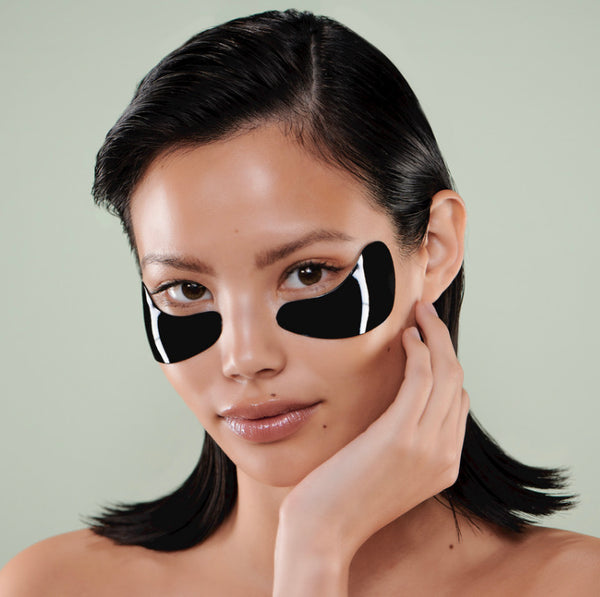 Celestial black diamond eye mask singel fra 111skin