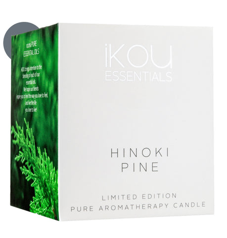 HINOKI PINE CANDLE GLASS - LARGE - LIMITED EDITION