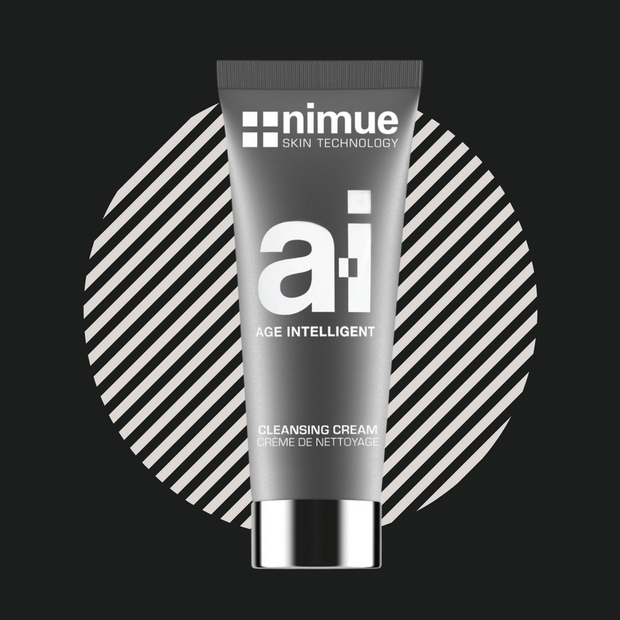 Nimue skin technology Ai cleansing cream