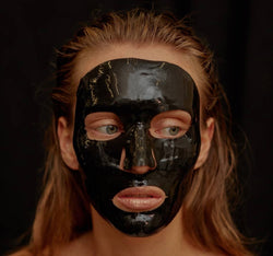 Celestial black diamond lifting and firming treatment face mask singel