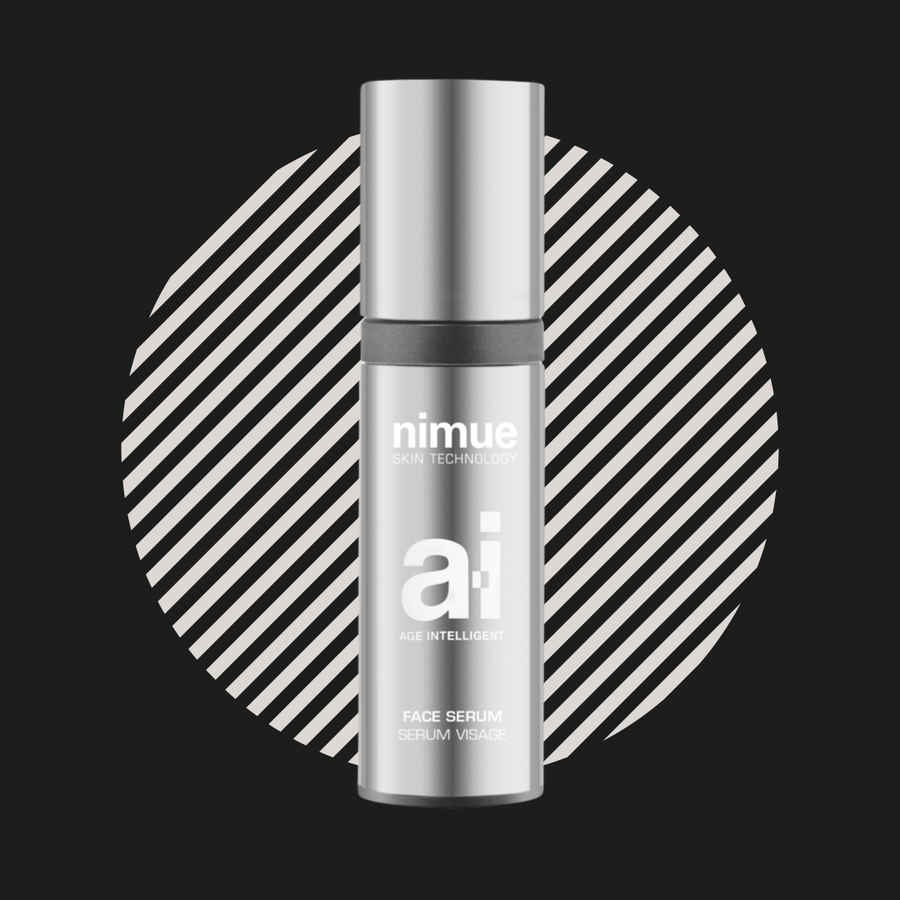 Nimue skin technology Ai face serum