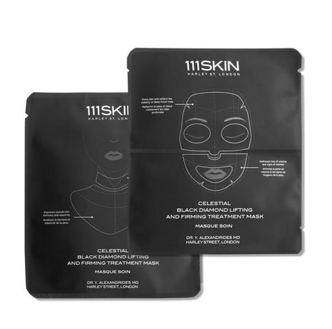 Celestial black diamond treatment face and neck x4