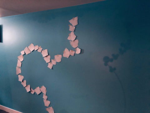 Mickey mouse ears wall decal installation