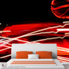 RED LIGHT DISTRICT - Abstract Wall Mural