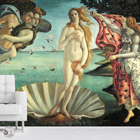 BIRTH OF VENUS by Botticelli - Wall Mural
