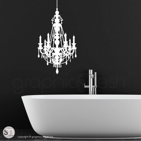 CHANDELIER - Wall decal