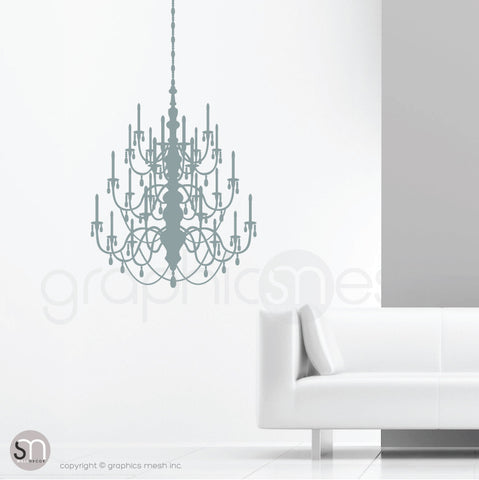 CRYSTAL CHANDELIER - Wall decal