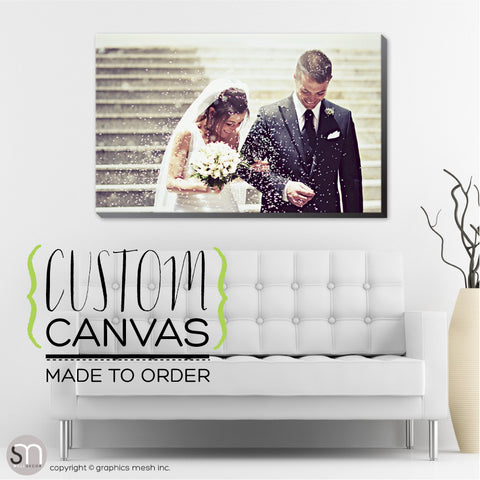 CUSTOM PRINTED CANVAS