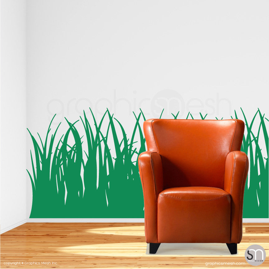 TALL GRASS - Wall Decals green